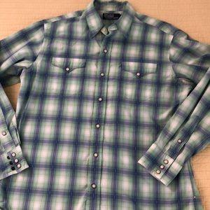 Polo Long Sleeve Button-Up Shirt